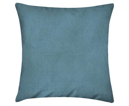 Capa de Almofada em Linho Misto Lauren - Azul | WestwingNow