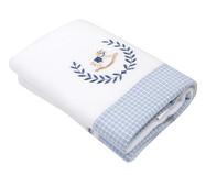 Cobertor Soft Cavalinho de Pau Azul - 240G/M²   WestwingNow