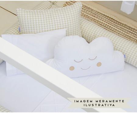 Almofada Nuvem Smile Branca - 180 Fios   WestwingNow