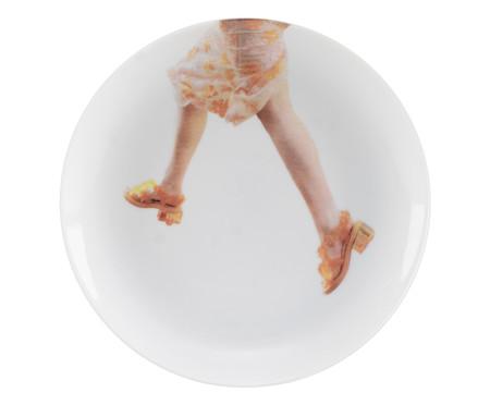 Jogo de Pratos para Sobremesa em Porcelana Leo Faria - 06 Pessoas   WestwingNow