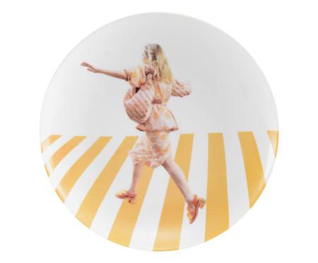 Jogo de Pratos Rasos em Porcelana Leo Faria - 06 Pessoas | WestwingNow
