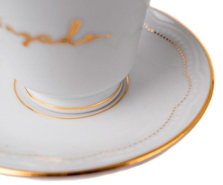 Xícara de Café em Porcelana Pingado - Branco | WestwingNow