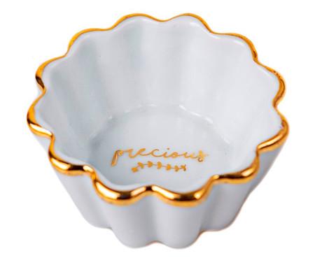 Molheira em Porcelana Precious - Branco | WestwingNow