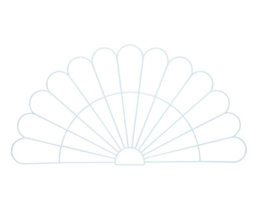 Cabeceira Pavão - Branca, Branco | WestwingNow