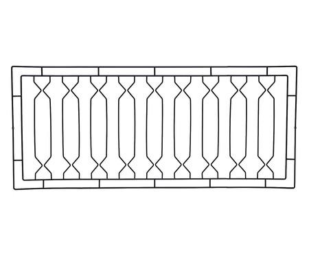 Cabeceira Geométrica - Preta | WestwingNow