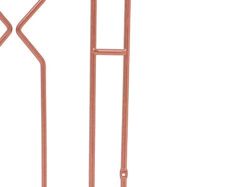 Cabeceira Geométrica - Acobreada | WestwingNow