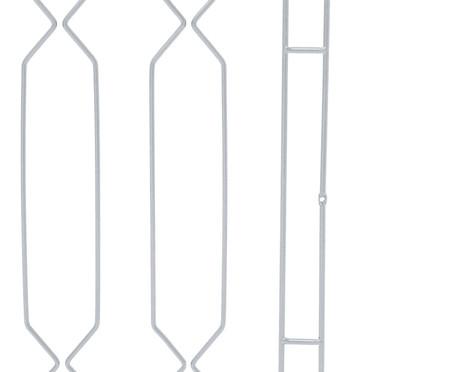 Cabeceira Geométrica - Cromada | WestwingNow