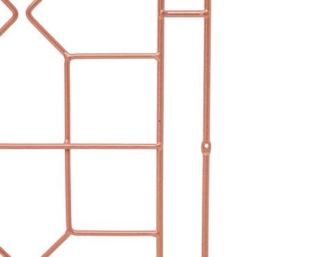 Cabeceira Chinoiserie - Acobreada | WestwingNow