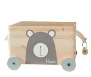 Caixa Organizadora Urso - Cinza | WestwingNow