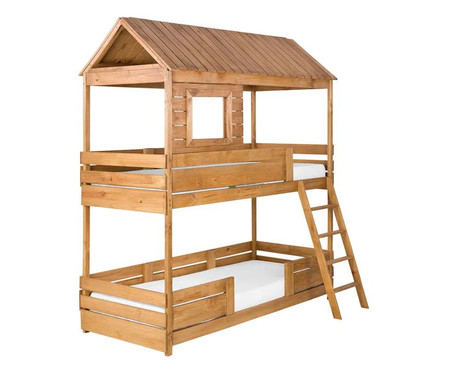 Cama Beliche Treehouse - Natural | WestwingNow