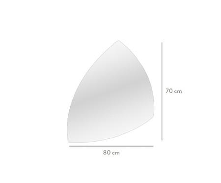 Espelho de Parede Lapidado Sadoque - 80x70cm | WestwingNow