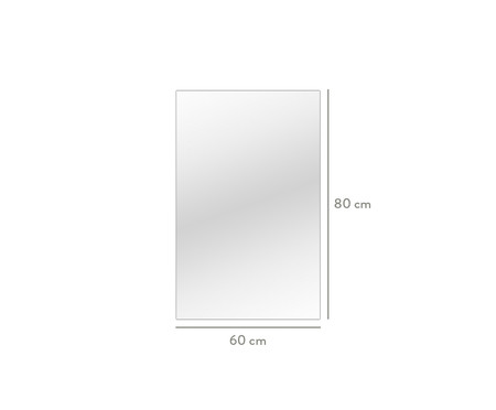 Espelho de Parede Bisotê Martin - 60x80cm | WestwingNow