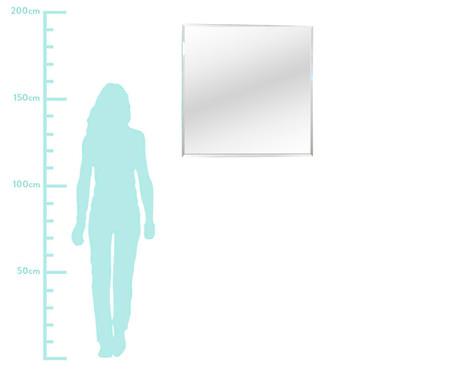 Espelho de Parede Bisotê Ingrid - 80x80cm | WestwingNow