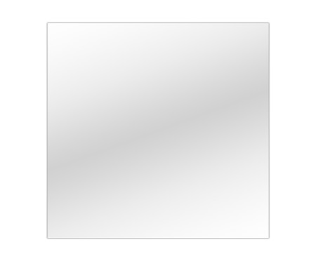 Espelho de Parede Bisotê Lewis - 60x60cm | WestwingNow