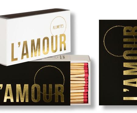 Caixa de Fósforos Longos L'Amour - 100 Unidades | WestwingNow