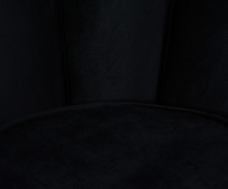 Poltrona em Veludo Pétala - Preta | WestwingNow