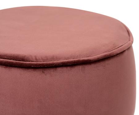 Pufe em Veludo Comtois - Rosa Antique | WestwingNow