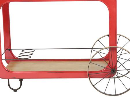 Carrinho de Bar Violão - Vermellho | WestwingNow