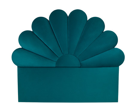 Cabeceira Enchanté - Azul Turquesa   WestwingNow