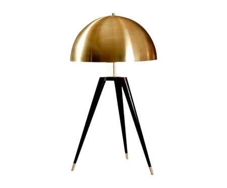 Luminária de Mesa Nita Dourado - Bivolt   WestwingNow