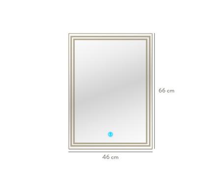 Espelho de Parede com Led Livia l Bivolt - 46x66cm   WestwingNow
