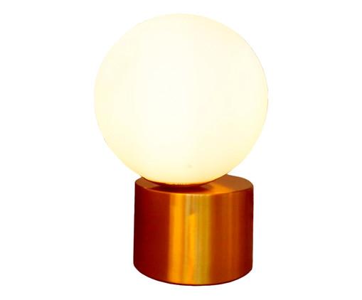 Abajur Moon Dourado - Bivolt, multicolor | WestwingNow