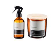 Kit Vela Perfumada e Home Spray Figo Vetiver 200ml   WestwingNow