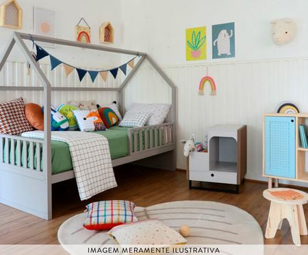 Cama Montessoriana 4 em 1 Catarina 4 em 1 - Cinza | WestwingNow