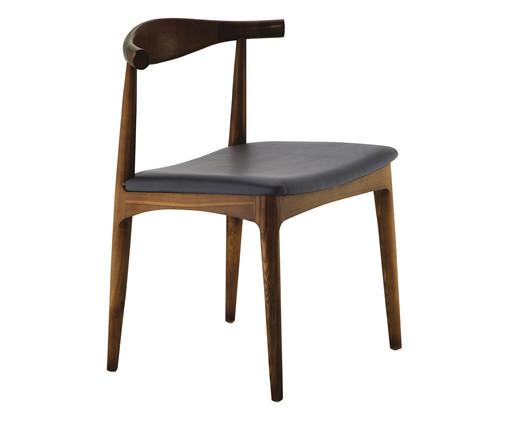Cadeira Layla - Madeira Escura, Preto, Marrom, Colorido | WestwingNow
