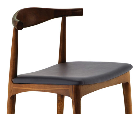 Cadeira Carina - Madeira Escura   WestwingNow