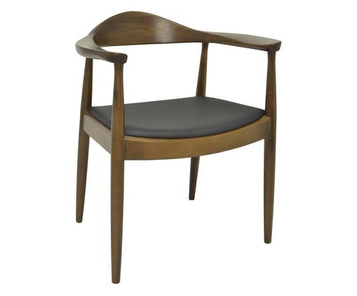 Cadeira Carina com Braços - Madeira Escura, Preto, Marrom, Colorido | WestwingNow