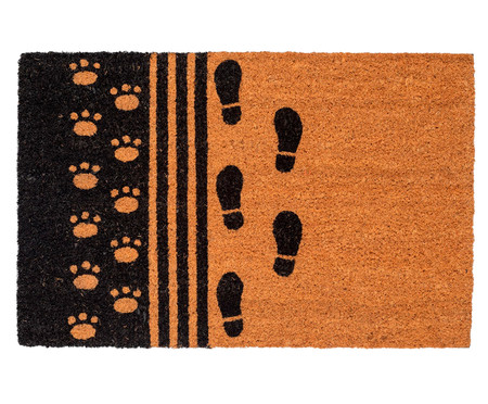 Capacho Indiano em Fibra de Coco Melhor Amigo - Bege | WestwingNow