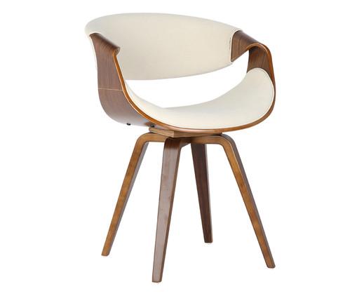 Cadeira em Linho Issa - Natural e Bege, Bege, Natural | WestwingNow