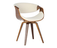 Cadeira em Linho Issa - Natural e Bege | WestwingNow