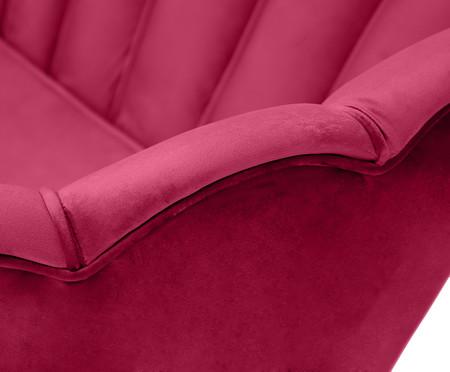 Sofá em Veludo Pétala - Rosa | WestwingNow