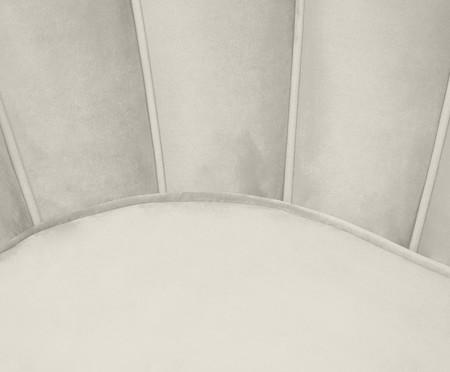 Sofá em Veludo Pétala - Off White   WestwingNow