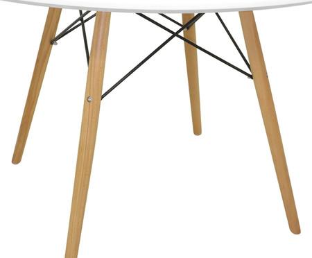 Mesa de Jantar Redonda Eames - Branca | WestwingNow
