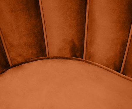 Sofá em Veludo Pétala - Acobreada   WestwingNow