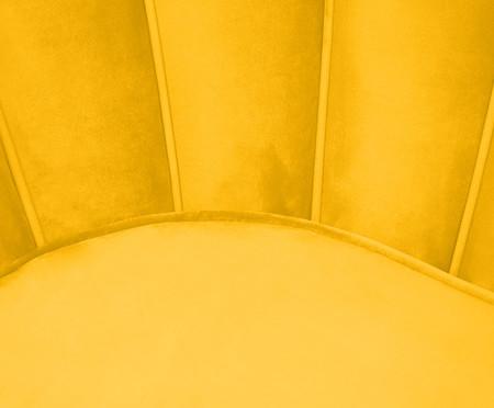 Sofá em Veludo Pétala - Açafrão | WestwingNow