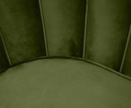 Sofá em Veludo Pétala - Verde Abacate | WestwingNow