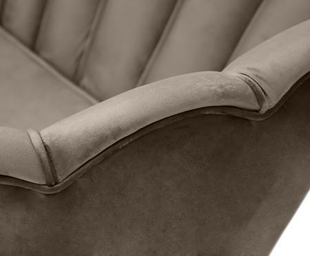 Sofá em Veludo Pétala - Fendi | WestwingNow