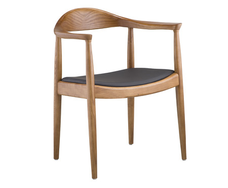 Cadeira Carina com Braços - Madeira Natural | WestwingNow