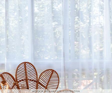 Cortina Voil em Linho Hibisco | WestwingNow