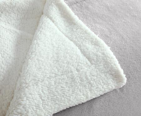 Cobertor Dupla Face Sherpa - Grão | WestwingNow