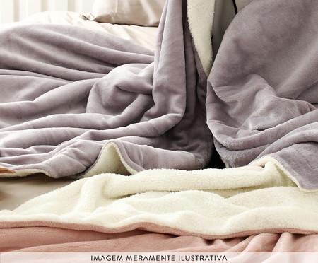 Cobertor Dupla Face Sherpa - Pinkish | WestwingNow