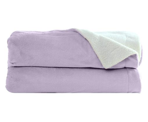 Cobertor Dupla Face Sherpa - Lilac, Lilás | WestwingNow