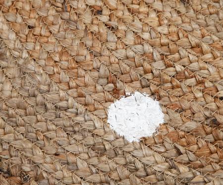 Tapete Redondo em Juta Pois - Natural e Branco | WestwingNow