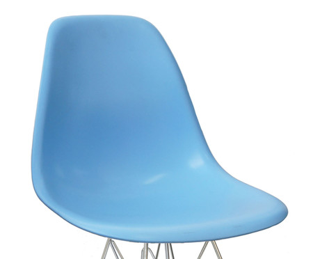 Cadeira Infantil Eames Metale - Azul   WestwingNow