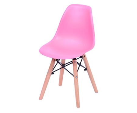 Cadeira Infantil Eames Wood - Rosa   WestwingNow