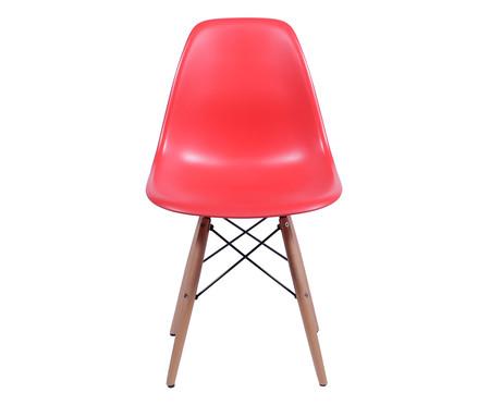 Cadeira Infantil Eames Wood - Vermelha   WestwingNow